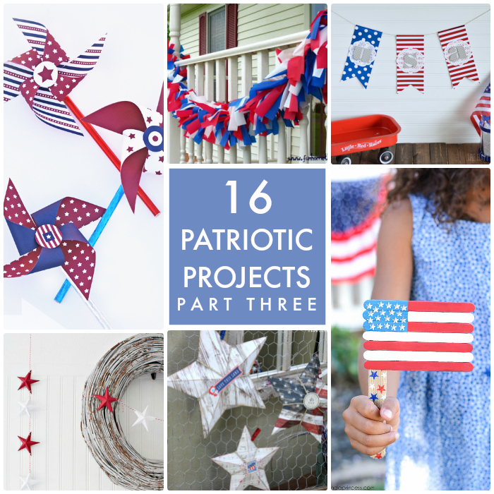 16 Patriotic Projects Part Three Collage