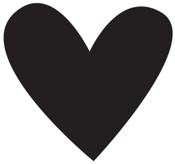 TT&J Cricut Vase heart