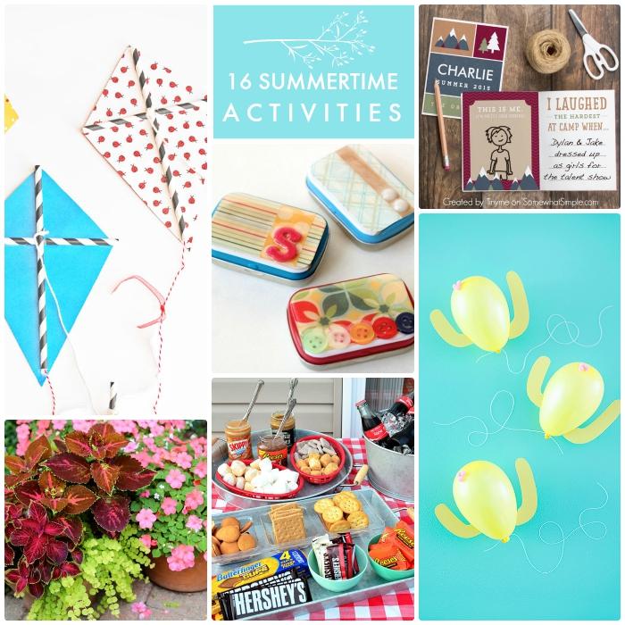 16 Summertime Activities