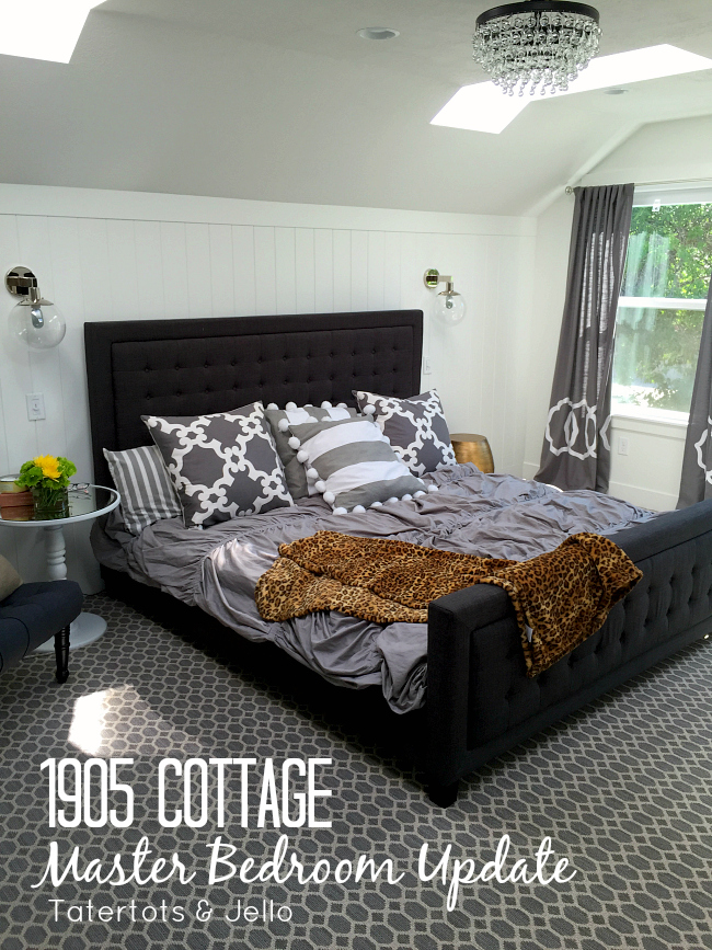 1905 Cottage Master Bedroom Update and Yogabed Review