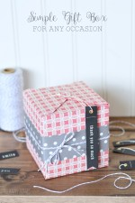 DIY Simple Gift Box