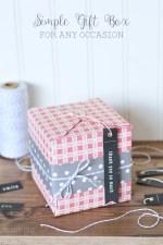 DIY Simple Gift Box