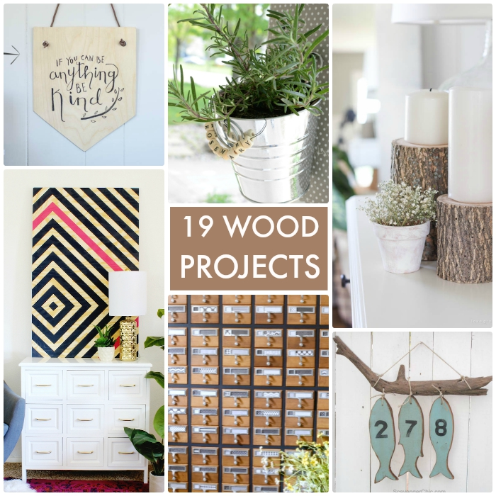 19 DIY Wood Projects