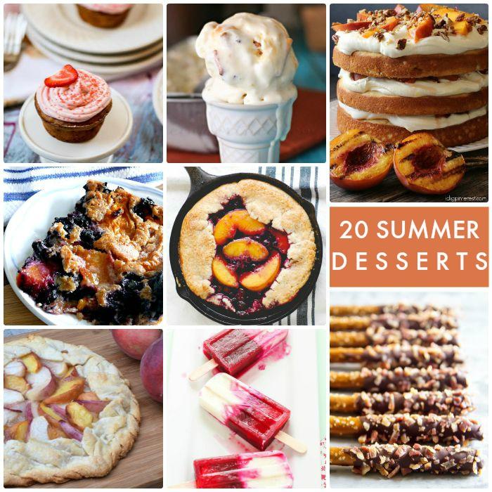 20 Summer Desserts