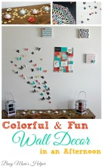 Colorful and Fun Wall Decor