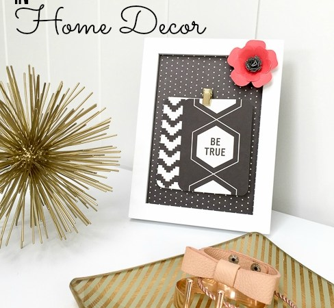 Using Project Life in Home Decor – my new Home+Made Project Life kit!