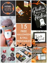 Great Ideas — 15 Free Halloween and Fall Printables!