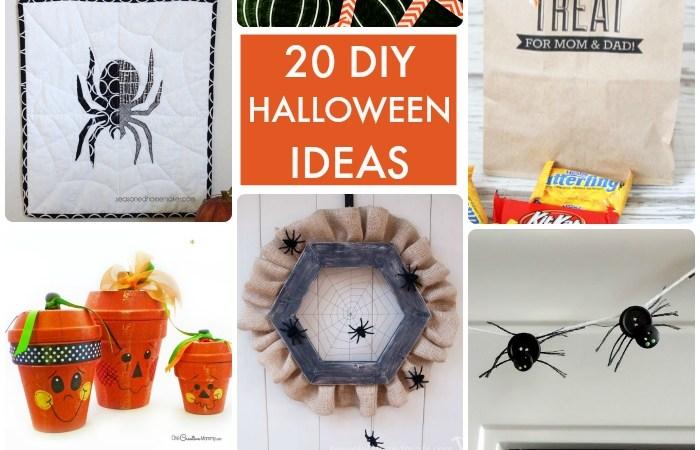 Great Ideas — 20 DIY Halloween Ideas!