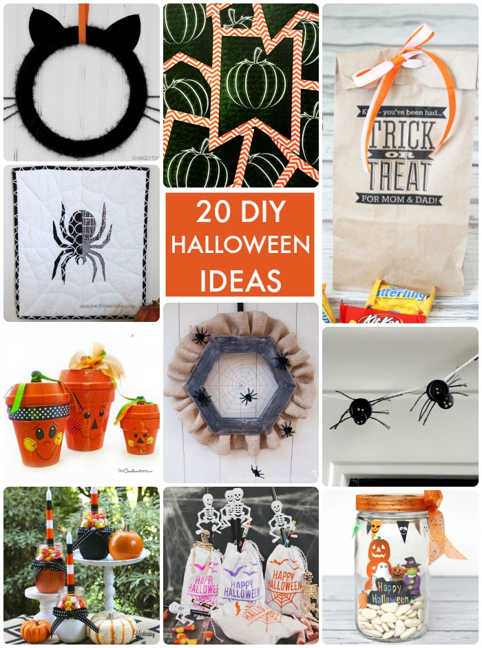 20 DIY Halloween Ideas