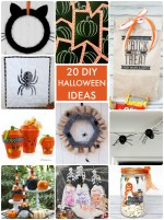 Great Ideas — 20 DIY Halloween Ideas!