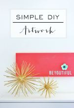 Simple DIY Artwork: BeYOUtiful