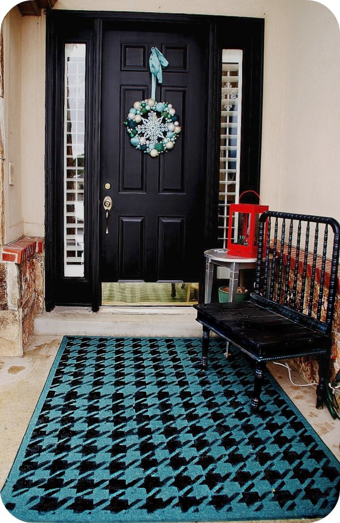 How To Paint A Rug In Less Than An Hour