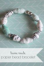 Home+Made Paper Bracelet
