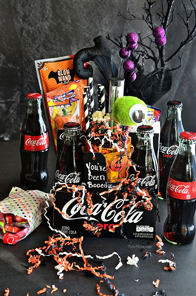 You've been Boo'd Halloween Idea and Printables