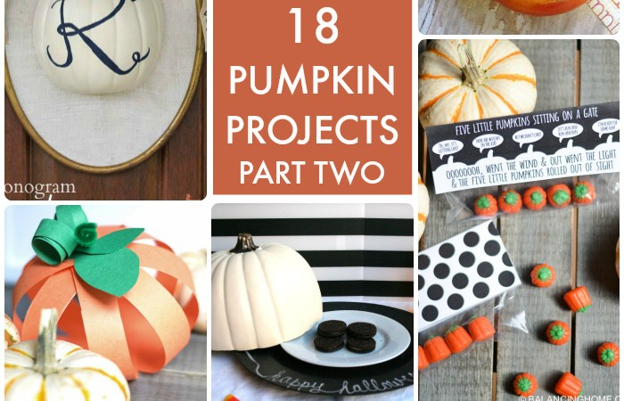 Great Ideas — 18 Pumpkin Projects Part 2!