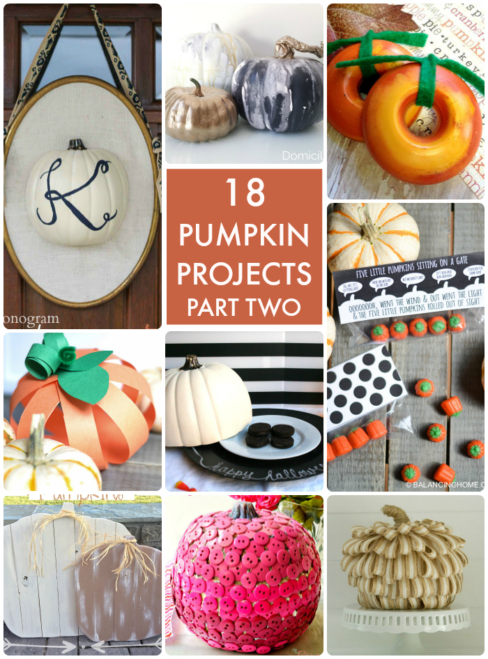 18 Pumpkin Projects Part 2