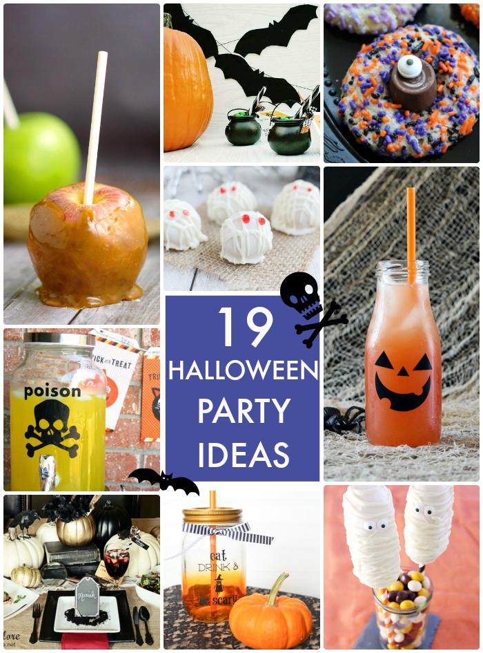 19 spooky Halloween Party Ideas