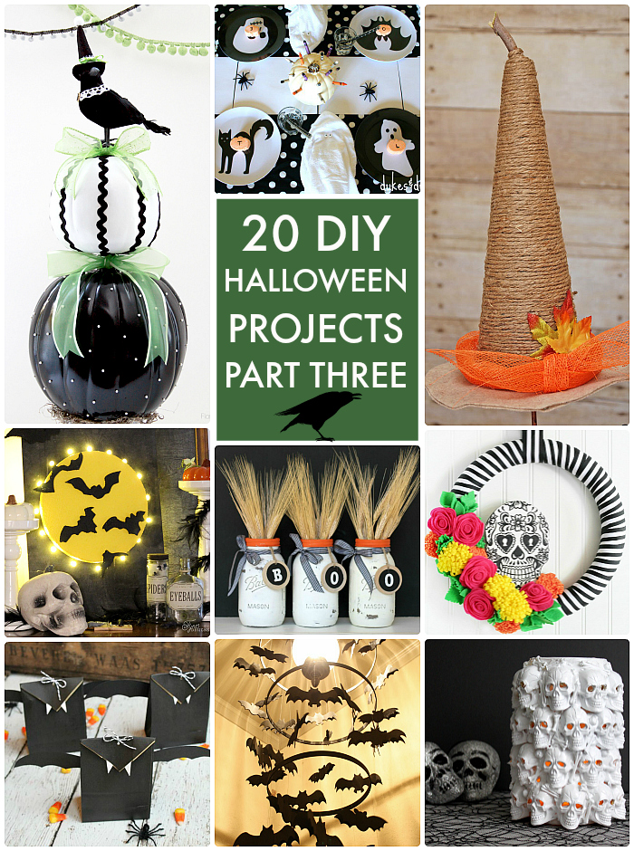 20 DIY Halloween Projects Part Three