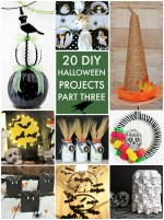 Great Ideas — 20 DIY Halloween Projects Part Three!