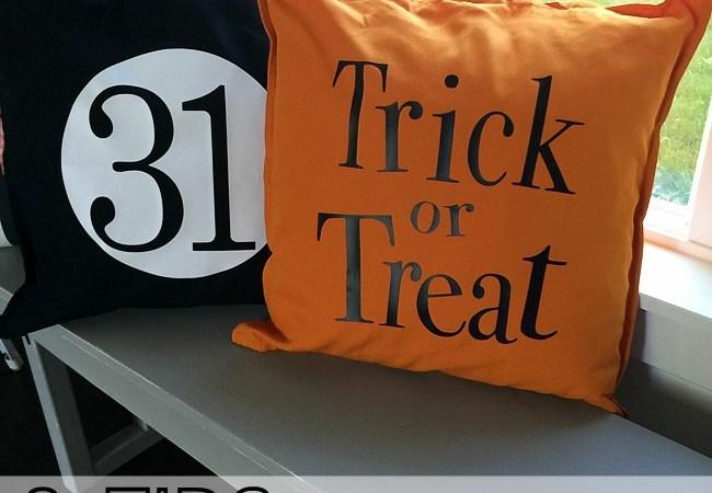 6 Tips to Make Easy Halloween Pillow Covers [And three Free Designs!]