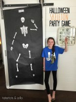 Halloween Skeleton Party Game printables