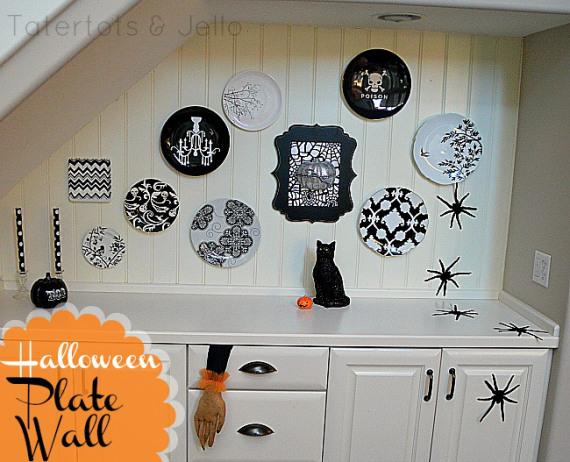 halloween-plate-wall