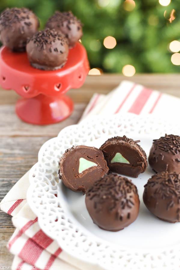 Mint Chocolate Truffle Recipe