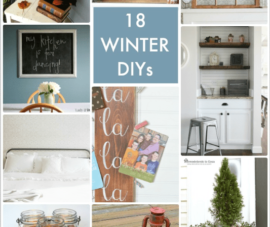 Great Ideas — 18 Winter DIYs!