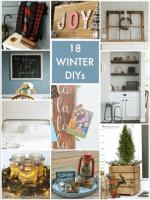 Great Ideas — 18 Winter DIYs!