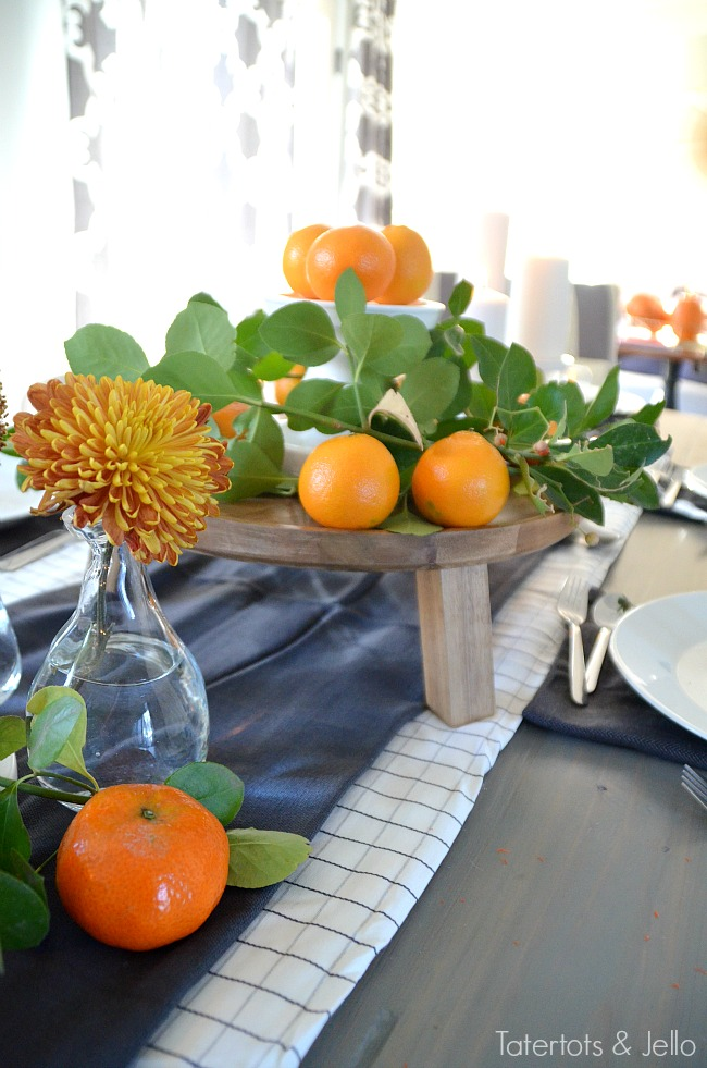 layering tablescapes