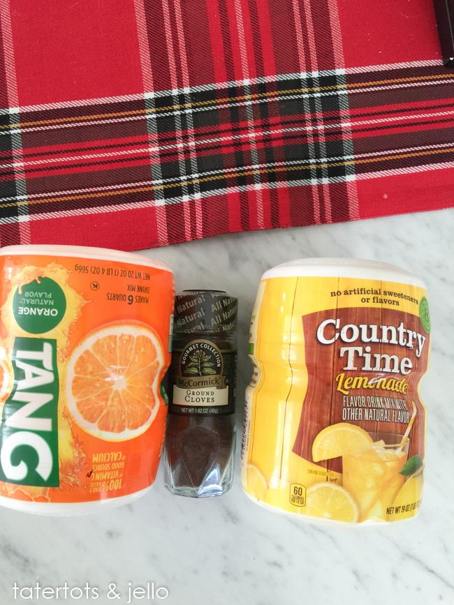 Tang Tea Recipe and Printables