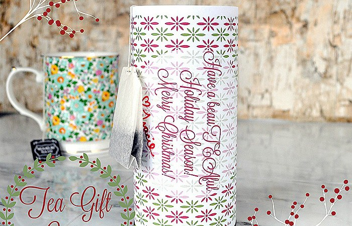 Happy Holidays: Tea Gift Idea