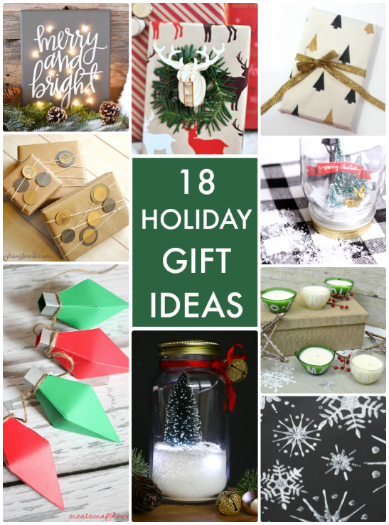 18 DIY HOliday Gifts to Make