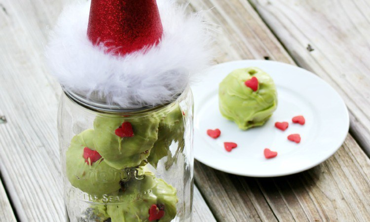 Happy Holidays: Grinch Truffles