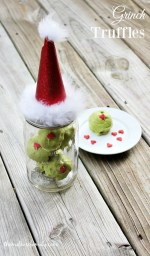 Happy Holidays: Grinch Truffles