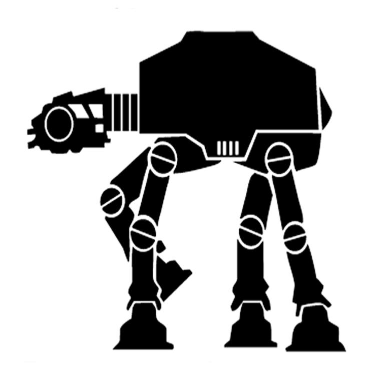 TT&J Cricut Star Wars Walker