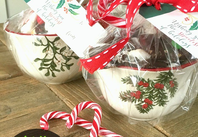 """""""Sweetest Holiday"""" Holly Gift Tags and Holiday Smore's Mix Recipe!"""