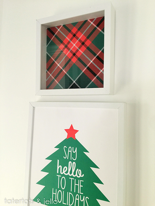 Say hello to the holidays free prinables