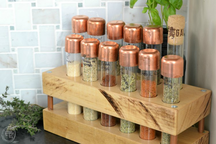 diy-spice-rack-with-test-tubes-butcher-block-and-copper-pipe
