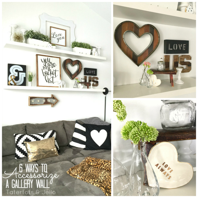 six tips on accessorizing a gallery wall