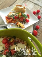 Margherita Pasta Bake Recipe!