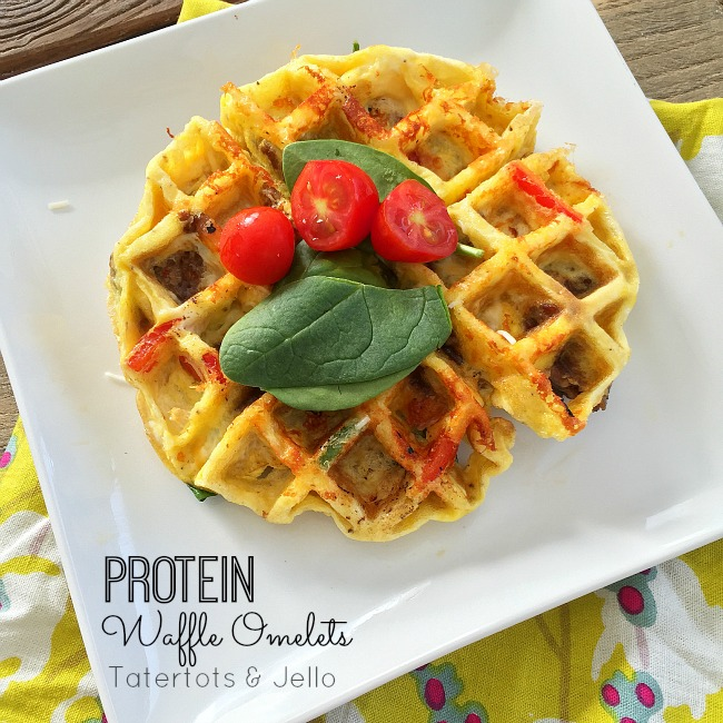Egg Waffles - a great protein breakfast option