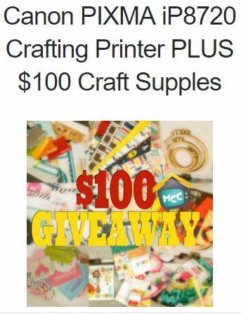 canon printer giveaway