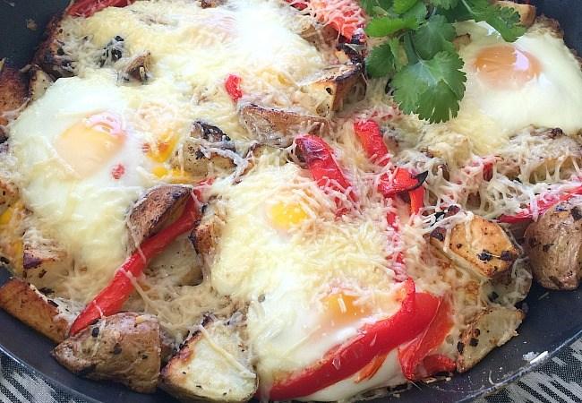 Egg and Potato Skillet Fritatta