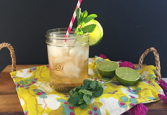 Ginger Lime Fizzy Drink and Keurig Kold Review