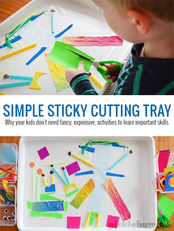 sticky-tray