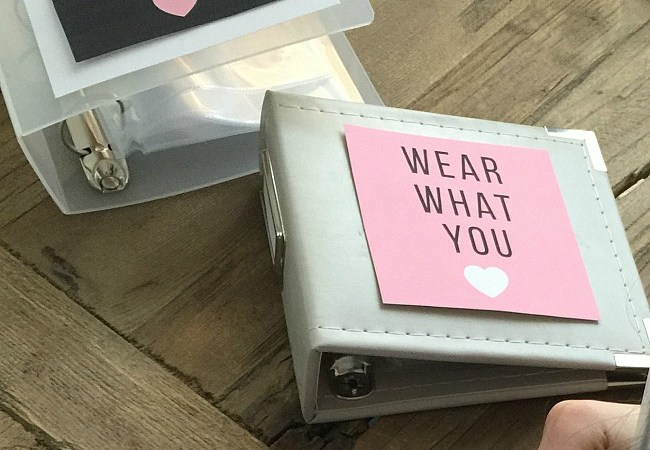Organizing with Photos – Tween Look Book Printables