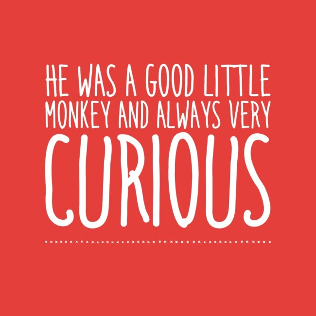 curious george printable