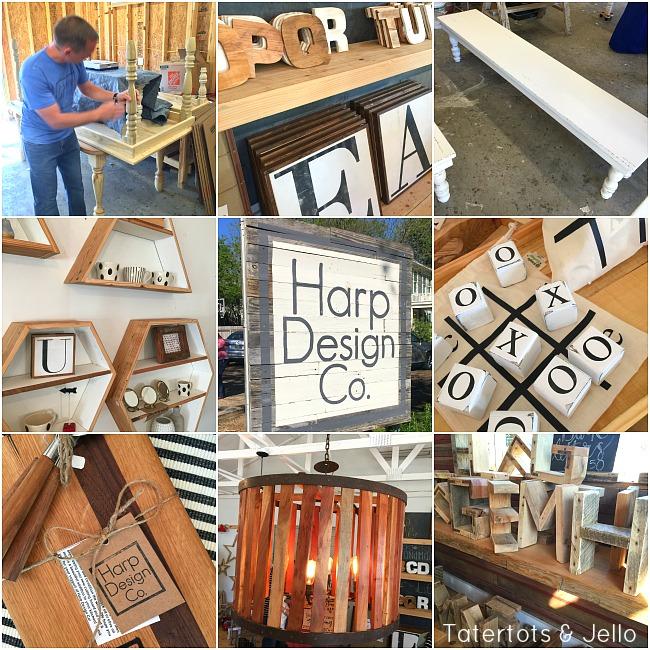 Harp Design Co Shop in Waco Texas
