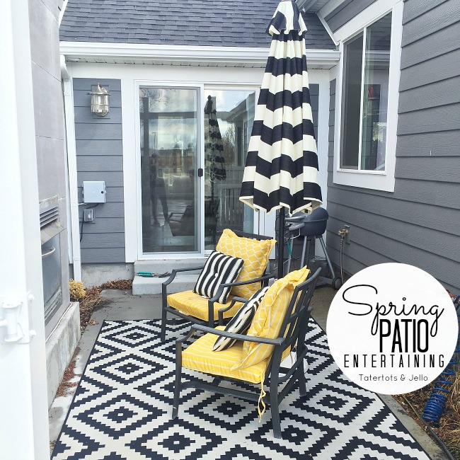 Spring Patio Entertaining Ideas